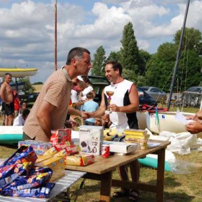Triathlon 2009 au plan d\'eau communal